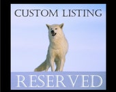 RESERVED for  lorenandrew- Soft Sculpture Taxidermy