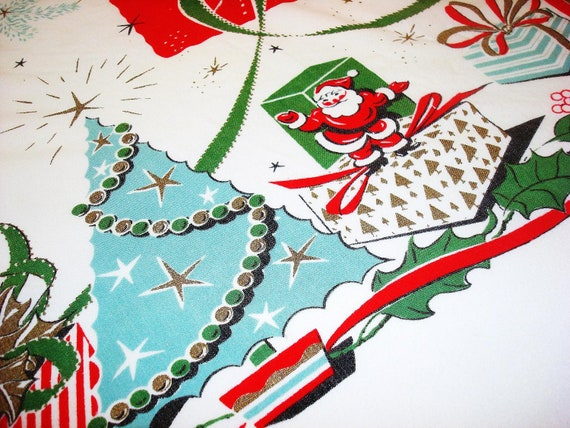 Atomic BLUE Christmas Tree Vintage By SplendorintheTrash