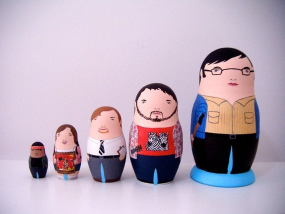 Flight of the Conchords Matryoshka (Reserved for Von)