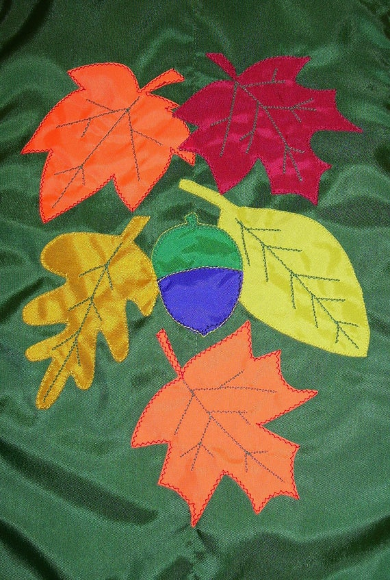 Autumn Leaves 12 inch by 18 inch  Garden Flag