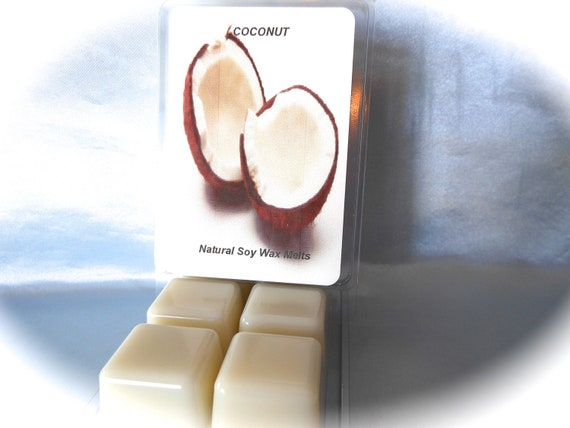 Natural Highly Scented Soy Melts Creamy Coconut