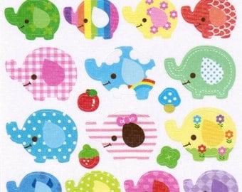 Kawaii My Little Friends Sticker Sheet - A