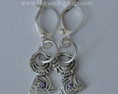 CUSTOM FOR KIM Sapphire Earrings - Handmade, original, one of a kind.