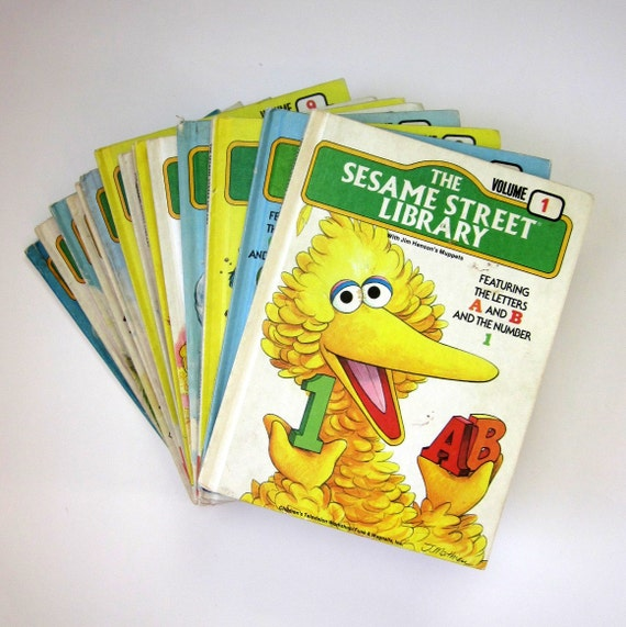 The Sesame Street Library Set 70s / Complete 15 Volume Set