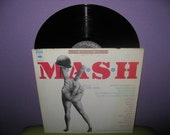 Vinyl Record Album M.A.S.H. Original Film Soundtrack Lp 1973 Music & Dialogue Johnny Mandel