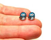 Lil' Owls (Choose Your Color), Stud Earrings