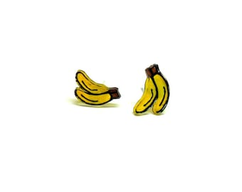Lil' Bananas, Stud Earrings