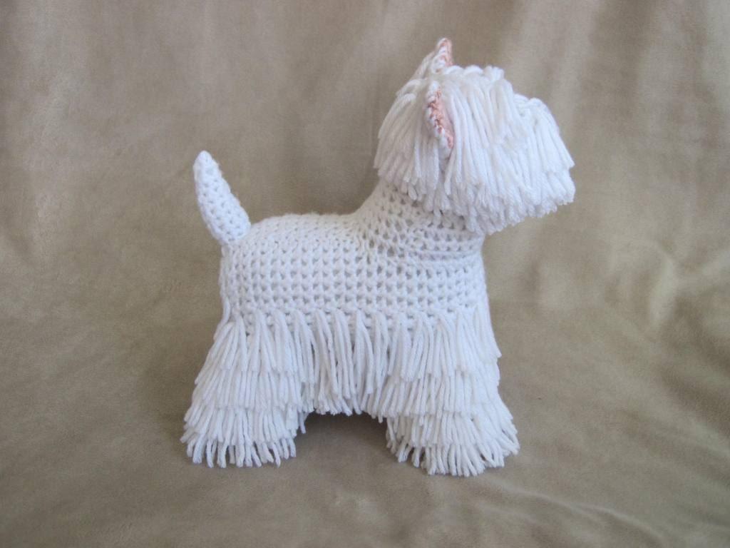 Westie Pdf Crochet Pattern Digital Download English