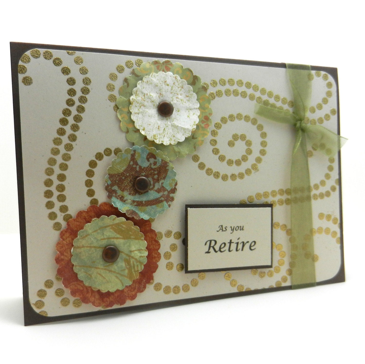 Items similar to Retirement Card - Handmade Retirement ...