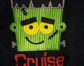 Frankenstein Halloween Shirt