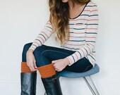Boot cuffs, boot topper, boot accessories, leg warmer, boot socks, orange, crochet, burnt, spring, fall, winter, autumn, halloween