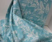 Cotton Fabric: Jenean Morrison Power Pop Girl Friend in Aqua - 1 YD