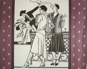 Folkwear  237 Tango Dress Roaring 20's 1920's Sewing Costume Pattern