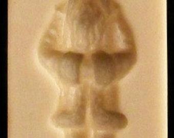 Hitzacker Gnome Springerle or Marzipan Candy Mold