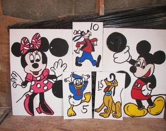 Mickey and family