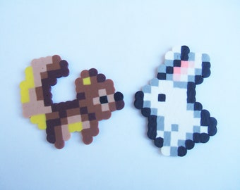Bunny And Squirrel Perler Bead Set