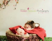 Red Riding Hood, photo prop, crochet cape, newborn prop, red cape, Crochet newborn hat, crochet baby prop, coming home outfit, costume