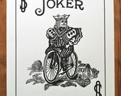 Bicycle Card Poster