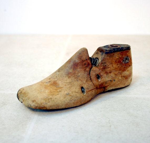 Vintage Child's Shoe Form / Shoe Form / Shoe Last