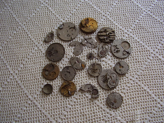 Vintage Watch Parts 20 Pc.