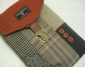 iPad Mini case iPad mini cover, Nook case, kindle case , tablet,E-Reader Case, Eco Friendly, Recycled Suit Coat