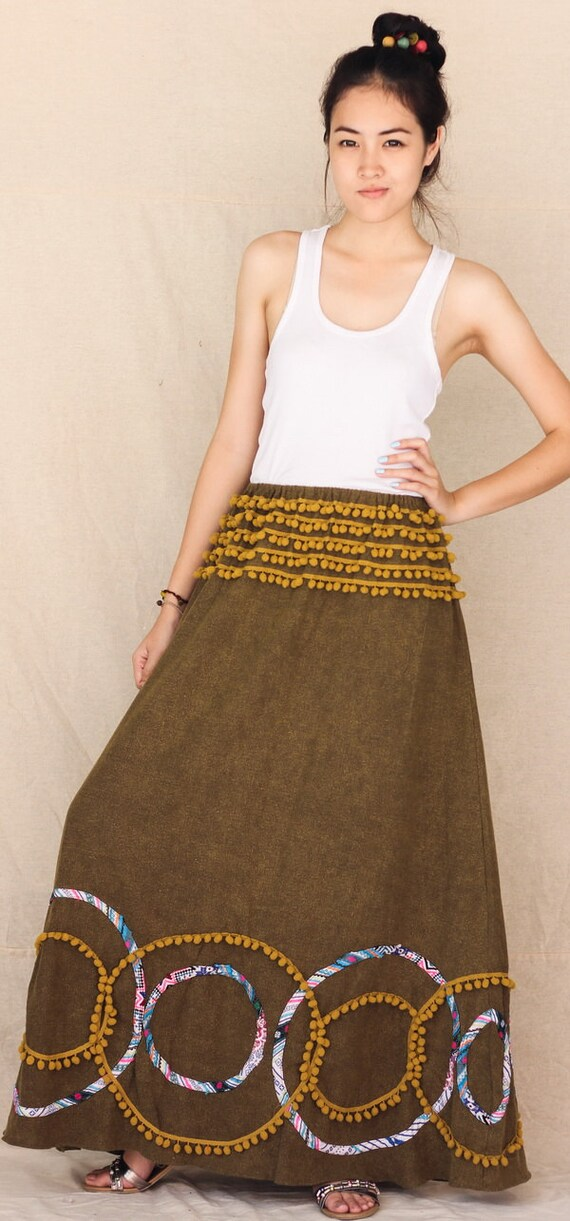 A day on the beach ... 100 percent cotton maxi dress/skirt