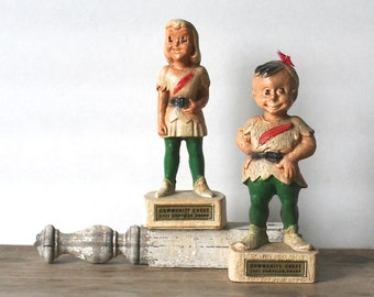 Multi Products Chicago Figurines Peter Pan Wendy Community Chest Award