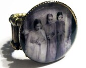 Brides of Dracula Ring Adjustable Resin Art Jewelry