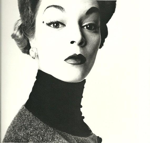 vogue art print photograph black & white photo ink book plate