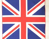 Union Jack Flag Handkerchiefs- Hand made