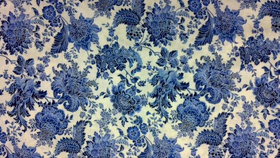 Blue rose roses flowers fabric made of 100 soft cotton for How are blue roses made