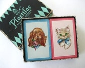 2 Decks Playing Cards Puppies Kittens