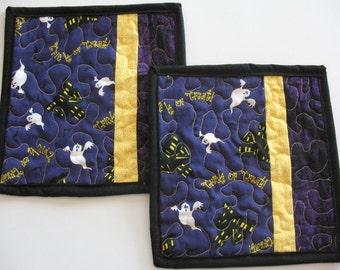 Quilted Mug Rugs or Personal Placemats