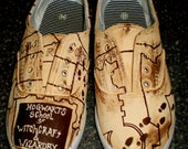 Harry Potter Handpainted Shoes