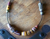 Vintage African trade beads necklace