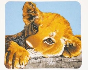 Lion Cub mouse pad