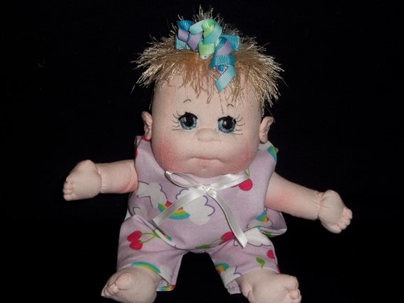 """Soft Sculptured Baby Dolls, Baby Girl 10"""""""