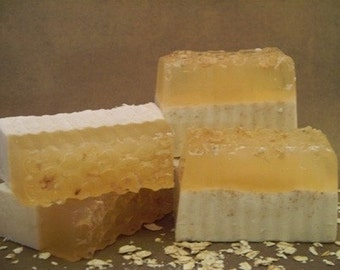 Oatmeal, Milk and Honey Soap Bar