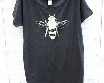 Bug Shirt - Bee Tee - Honey Bee - Women - Ladies shirt - Small, Medium, Large, XL - Clothing