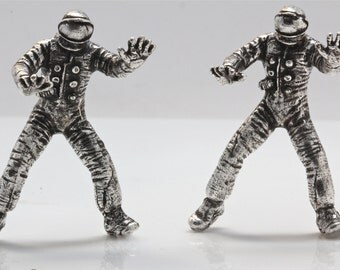 Astronaut knob cabinet knob  (Made in NYC)