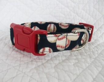 Baseball  Dog Collar Custom Made