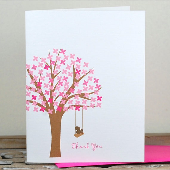 Gifts for Her, Squirrel Note Cards, Thank You Cards, Squirrels, Thank You Notes, Stationery, Stationary, Mother's Day