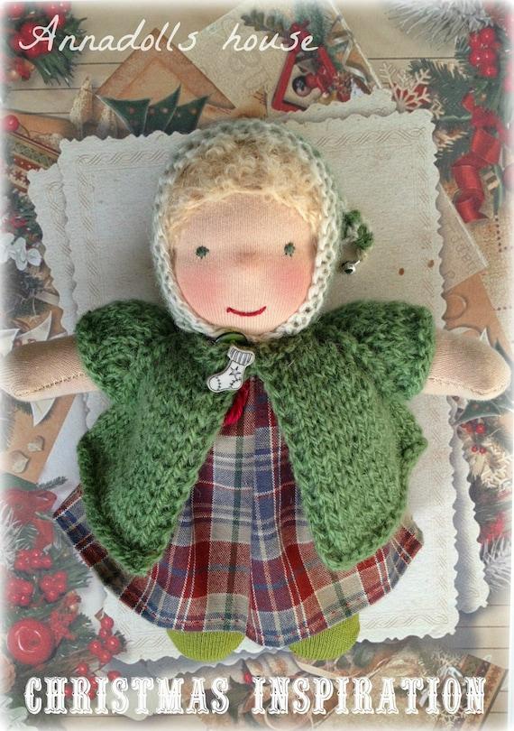 Waldorf inspired Pocket doll. (7 inch)