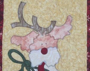 Wilson Reindeer PDF Quilt Pattern