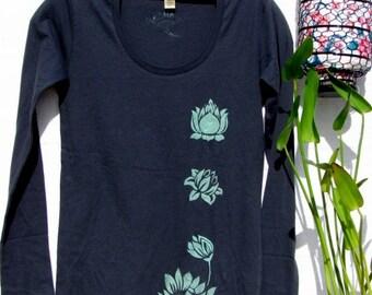 Lily Pond Longsleeve Organic Cotton Shirt
