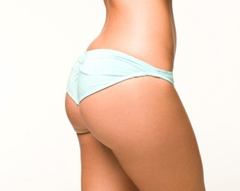 Baby Blue Lingerie Panties - Cheeky Bikini
