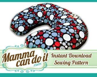 Nursing Pillow Cover Sewing Pattern - No Zipper