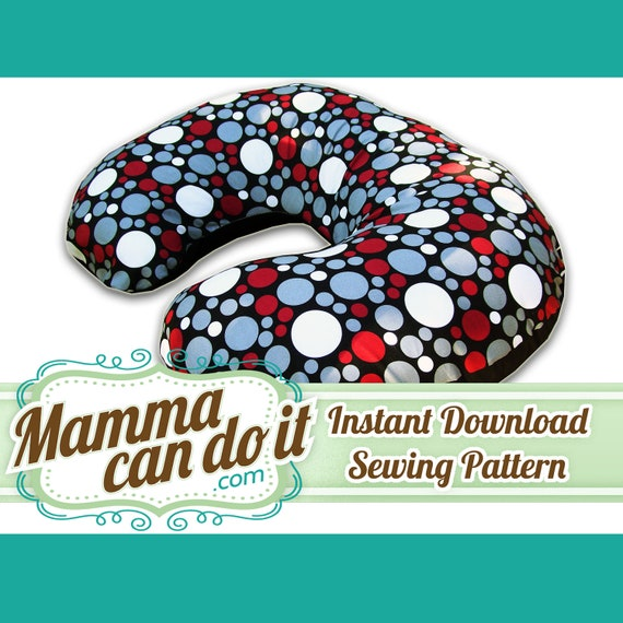 Boppy Pillow Cover Sewing Pattern - Instant Download & Boppy Pillow Cover Sewing Pattern Instant Download pillowsntoast.com