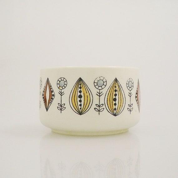 Vi n t a g e Norway Egersund Scandinavian Modern Ceramic Onion Pattern Bowl