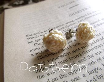 PATTERN- PDF- Tiny Rosettes- Crochet
